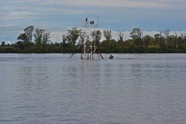 Último parte de Salto Grande con respecto al comportamiento del río Uruguay