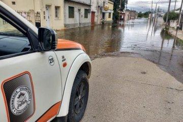 Más de 300 familias debieron ser evacuadas por la inundación
