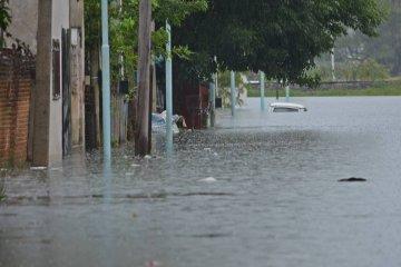 El río tuvo su primera baja en Concordia desde que comenzó la creciente