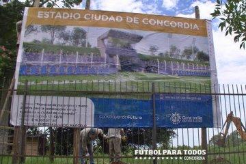 El futuro estadio de fútbol  estaría terminado para los primeros meses de 2020