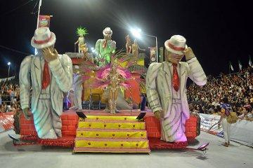 La grilla para la cuarta noche del Carnaval de Concordia