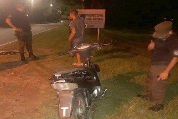 Detuvieron a un joven de 17 años que corría picadas con su moto