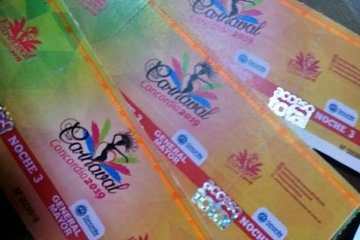 Problemas ocasionados por tormenta eléctrica obligaron a cambiar el lugar de pago para el Carnaval