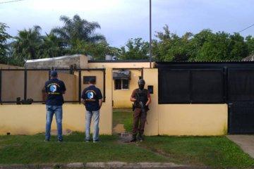 Una persona detenida en un allanamiento por Narcomenudeo