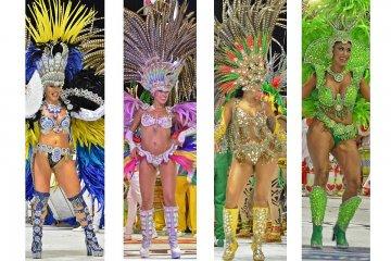 VIDEOS: Reviví los show de baterías de las segunda noche del Carnaval de Concordia
