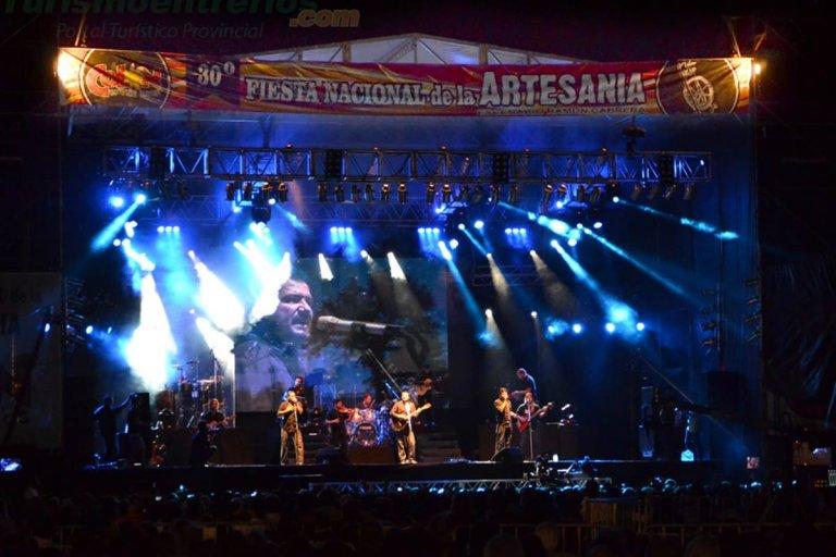 Jorge Rojas actuará en el escenario del parque Quirós