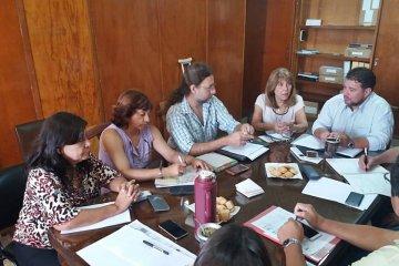 AGMER presentó las demandas de infraestructura escolar en la Comisión Paritaria del CGE
