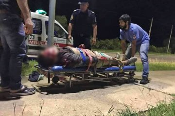 Falleció el joven que impactó contra una columna con su moto
