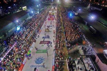 VIDEOS: Así fueron los shows de baterías de la tercera luna del Carnaval de Concordia