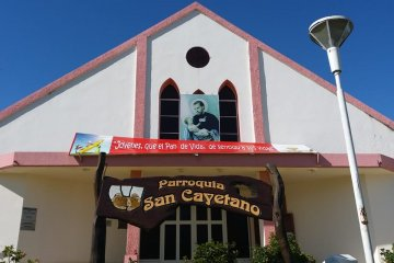 Ni la parroquia de Villa Zorraquín se salva de los ladrones