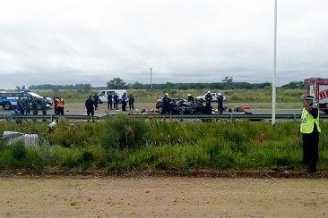 Fatal accidente con varios muertos sobre la Ruta Nacional 14