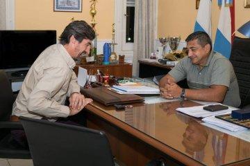 Giano se reunió con el nuevo Jefe Departamental de Policía de Concordia