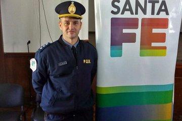 La caminera policial de uno de los accesos a Concordia tiene nuevo jefe