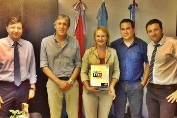 Un municipio del departamento Concordia firmó un convenio con la Caja Mixta