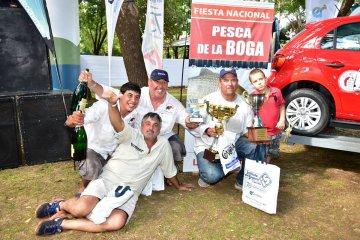 Casi 200 embarcaciones participaron de la Fiesta Nacional de la Pesca de la Boga