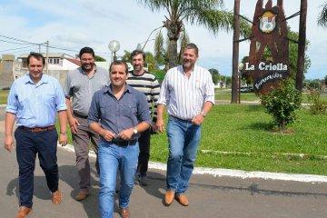 Gay y Giano intensifican su presencia en las localidades del departamento