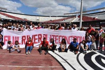 La Filial realizó un tour por el estadio de River Plate