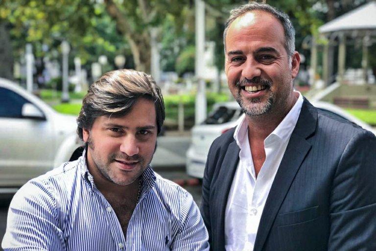 Leandro Lapiduz y Raúl Gonzalez