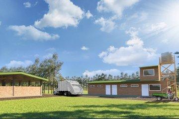 Concordia construye la primera Estación de Transferencia de Residuos Urbanos de la provincia