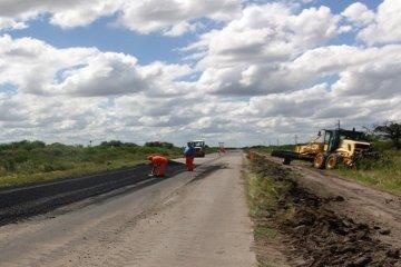 Vialidad reinició los trabajos de reparación en la ruta nacional 127