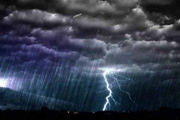 Se advierte un alerta por fuertes tormentas que abarca la provincia de Entre Ríos