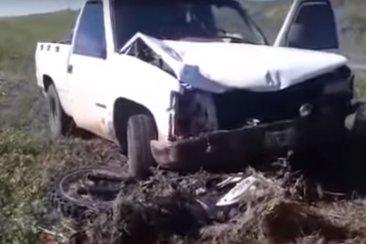 Dos concordienses involucrados en un accidente que le costó la vida a un motociclista