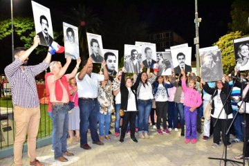 Concordia conmemoró el 43° aniversario del Golpe de Estado del '76