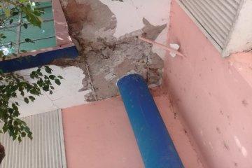 AGMER constató importantes deterioros en la infraestructura escolar de Federal