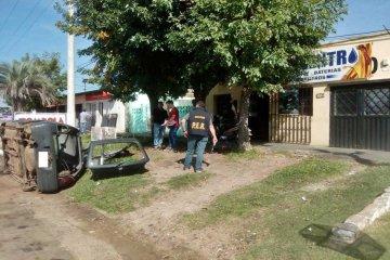 La policía desmanteló un desarmadero en Concordia