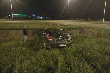 Una joven fue hospitalizada tras protagonizar un siniestro vial en la autovía 14