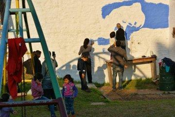 Más de 20 escuelas locales ya participan del concurso de murales