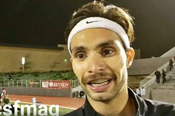 VIDEO: Así fue el vibrante final de la carrera de Federico Bruno en EE UU