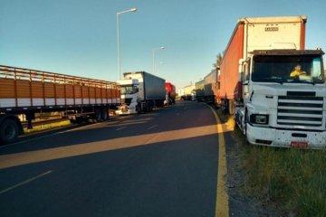 Camioneros prepara volanteada y presencia al costado de las rutas entrerrianas
