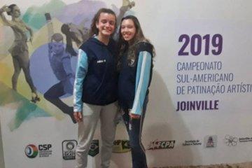 Concordiense se subió al podio en el Sudamericano de Patín Artístico