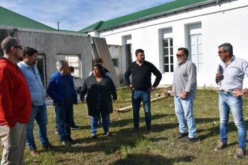 El ministro de Planeamiento recorrió obras que ejecuta la provincia en Federal
