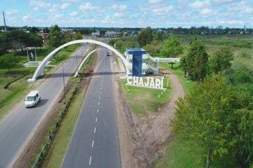 Este lunes Chajarí estrena el nuevo arco de salida de la ciudad