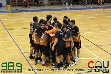 Comenzó la Liga Entrerriana de Handball