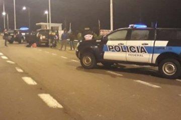 Tres hombres fueron detenidos en la autovía 14 por Narcomenudeo