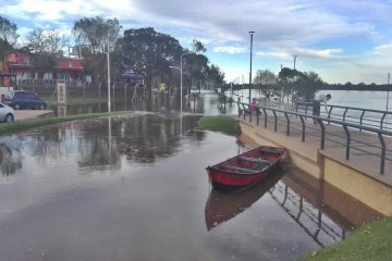 Preocupación por un nuevo repunte del río Uruguay