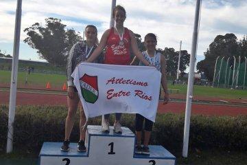 Concordiense se consagró como la nueva campeona nacional de atletismo