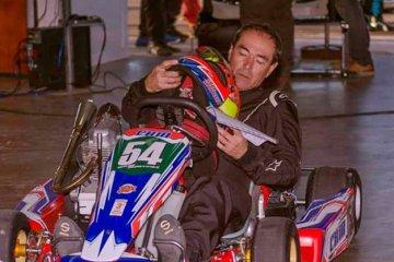 El Gurí Martínez fue la atracción de la fecha del Karting Entrerriano en Concordia