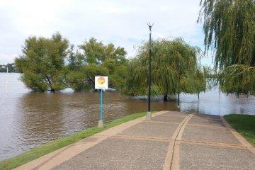 Estiman que el Río Uruguay tendrá su máximo crecimiento este fin de semana