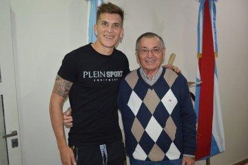 Nicolas Reniero visitó la ciudad de Federación
