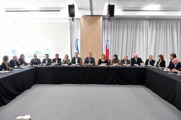 Bordet analizó el primer año de vigencia de la ley de Narcomenudeo en reunión de gabinete