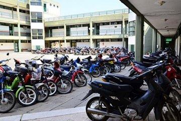 Más de 3000 motos a la espera de ser compactadas