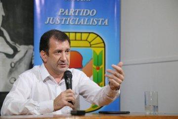 Kueider también se refirió a la precandidatura a presidente de Alberto Fernández