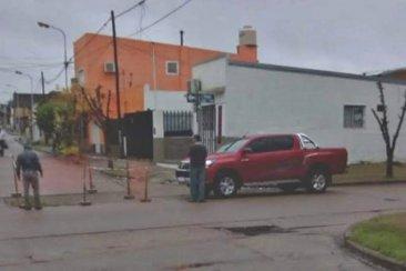 El municipio explicó los motivos por lo que cedió el pavimento en una esquina concordiense