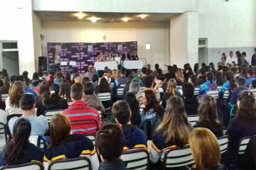 Los Centros de Estudiantes de Concordia tuvieron su primer encuentro departamental