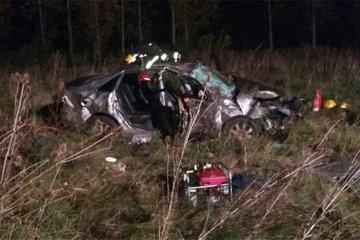 Tres heridos y una joven fallecida fue el saldo de un despiste en la Autovía de la Ruta 14