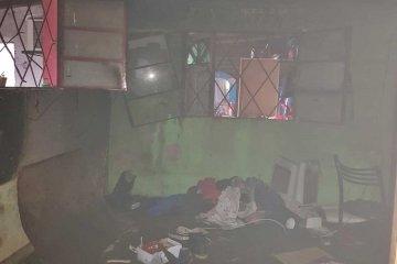 Dos niños con quemaduras muy graves tras un incendio